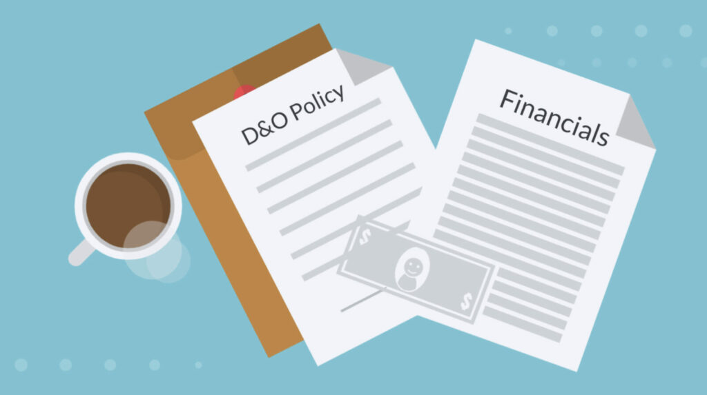 Read financial statements to understand D&O risk