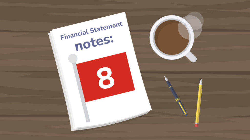 Financial statement notes